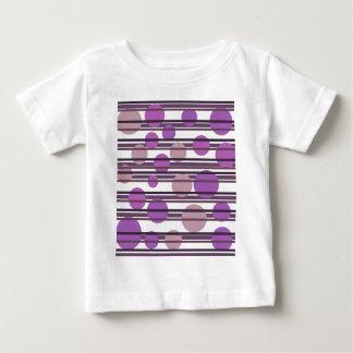 Purple simple pattern baby T-Shirt