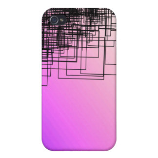 Purple & Sketch iPhone 4 Covers