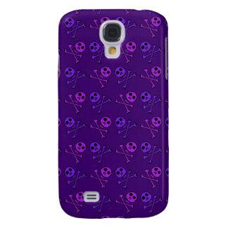Purple Skulls iPhone Case
