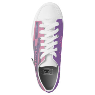 Purple Sky Girl Empowered Shoes