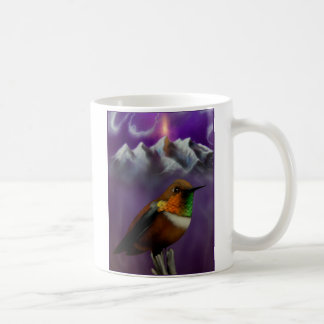 Purple Sky Hummingbird Mug