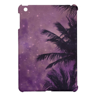 Purple Sky Palm iPad Mini Case