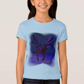 Purple Skys Girls Baby Doll Shirt