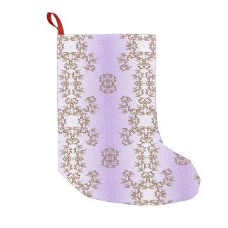 purple small christmas stocking