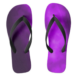 Purple Smoke Flip Flops