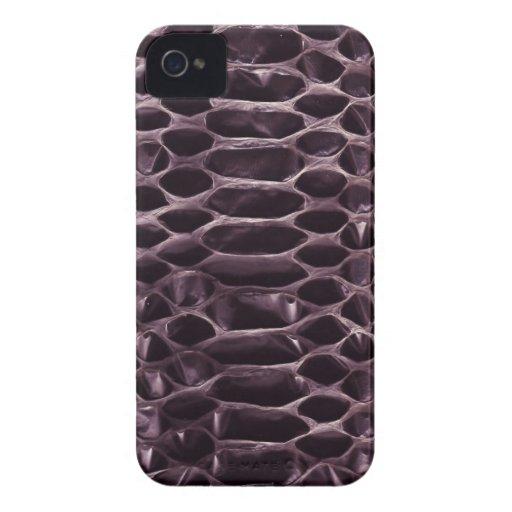 Purple Snake Skin Blackberry Bold Cases