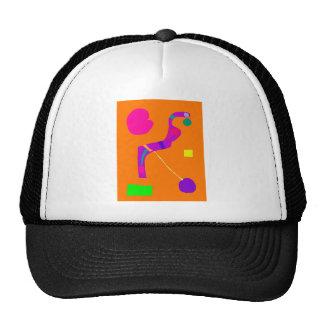 Purple Snake Wise Wit Green Egg Play Swift Trucker Hat