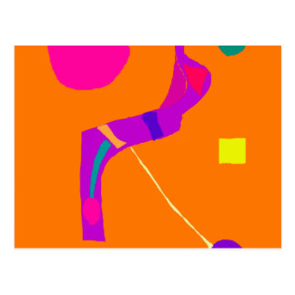 Purple Snake Wise Wit Green Egg Play Swift.pdf Postcard