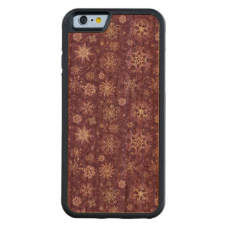 Purple Snowflakes for Chronic Pain Carved Cherry iPhone 6 Bumper Case