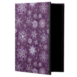 Purple Snowflakes for Chronic Pain Case For iPad Air