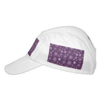 Purple Snowflakes for Chronic Pain Headsweats Hat