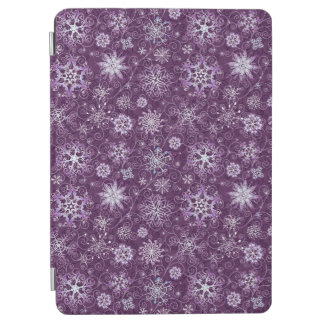 Purple Snowflakes for Chronic Pain iPad Air Cover