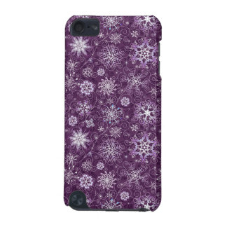 Purple Snowflakes for Chronic Pain iPod Touch (5th Generation) Case