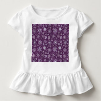 Purple Snowflakes for Chronic Pain Toddler T-shirt