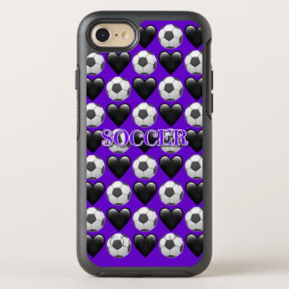 Purple Soccer iPhone 8/7 Otterbox Case