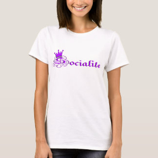 Purple Socialite T-Shirt