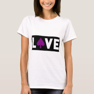 Purple Spade LOVE T-Shirt