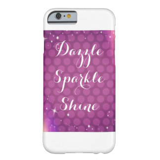 Purple Sparkle Phone Case
