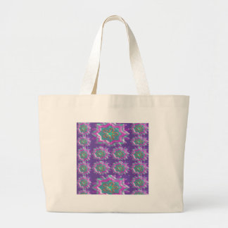 PURPLE Sparkle Star Pattern Goodluck Holy fun GIFT Tote Bag
