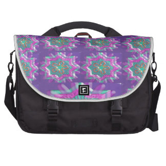 PURPLE Sparkle Star Pattern Goodluck Holy fun GIFT Computer Bag