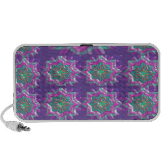 PURPLE Sparkle Star Pattern Goodluck Holy fun GIFT iPhone Speaker