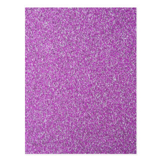 Purple Sparkles Background Add Your Own Postcard