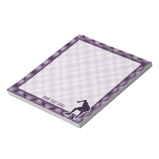 Purple Speed Skater Notepads