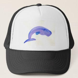 Purple Sperm Whale Trucker Hat