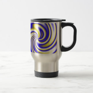Purple Spiral #2 Travel Mug