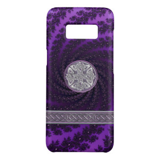 Purple Spiral Fractal Celtic Knot Case-Mate Samsung Galaxy S8 Case