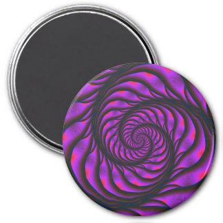 Purple Spiral Ladder Magnet