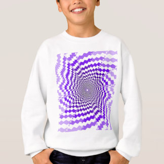 Purple Spiral Sweatshirt