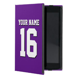 Purple Sports Jersey / Team Jersey Case For iPad Mini