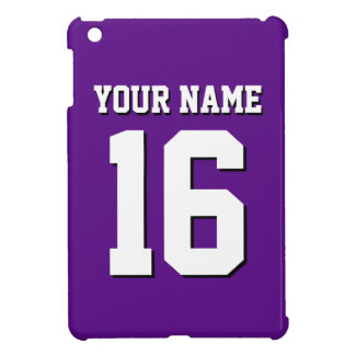 Purple Sports Jersey / Team Jersey iPad Mini Cover