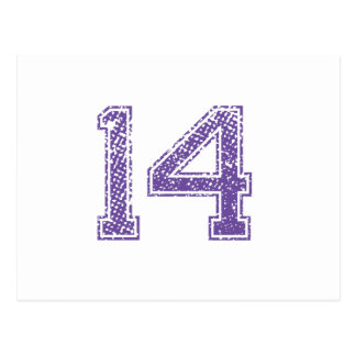 Number 14 Stickers | Zazzle