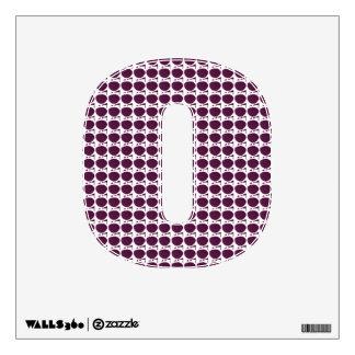 Purple Spots Wall Sticker