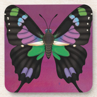 Purple Spotted Swallowtail Coaster