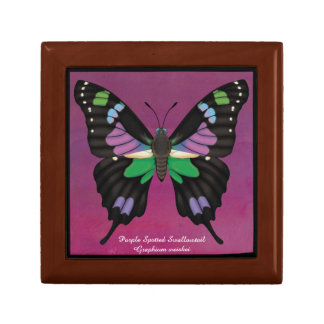 Purple Spotted Swallowtail Gift Box