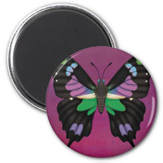 Purple Spotted Swallowtail Magnet