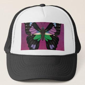 Purple Spotted Swallowtail Trucker Hat
