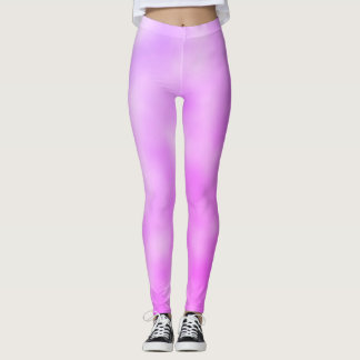 Purple Spray Paint Leggings