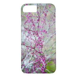 Purple spring buds phone case