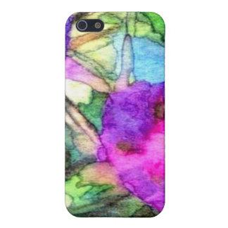 Purple Springtime Flowers CricketDiane iPhone 5/5S Cases