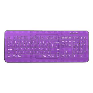 Purple Squares Keyboard