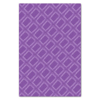 Purple Squares Tissue Paper