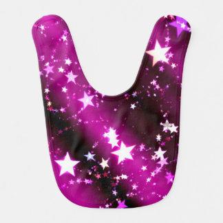 Purple Star Bib