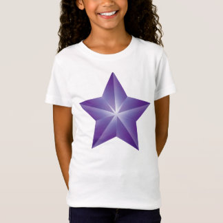 Purple Star Girls T-Shirt