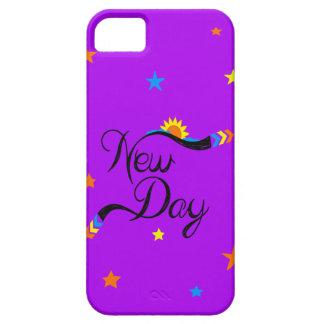 Purple star iPhone 5 case