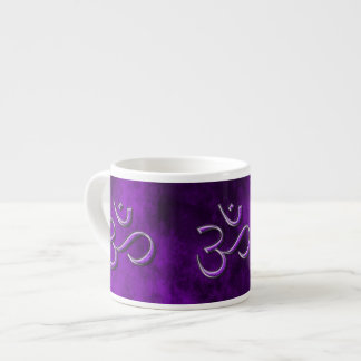 Purple Stone Om Espresso Cup