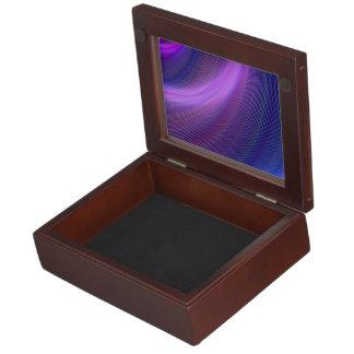 Purple storm keepsake box